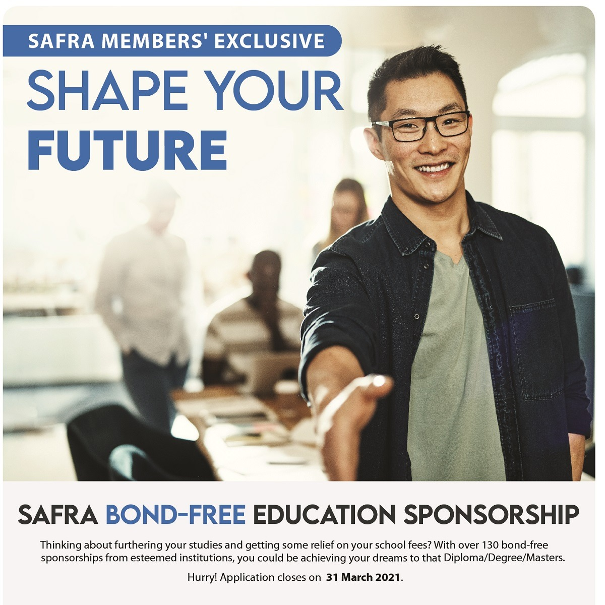 SAFRA collaborates with SRMC (Sponsorship Programme)