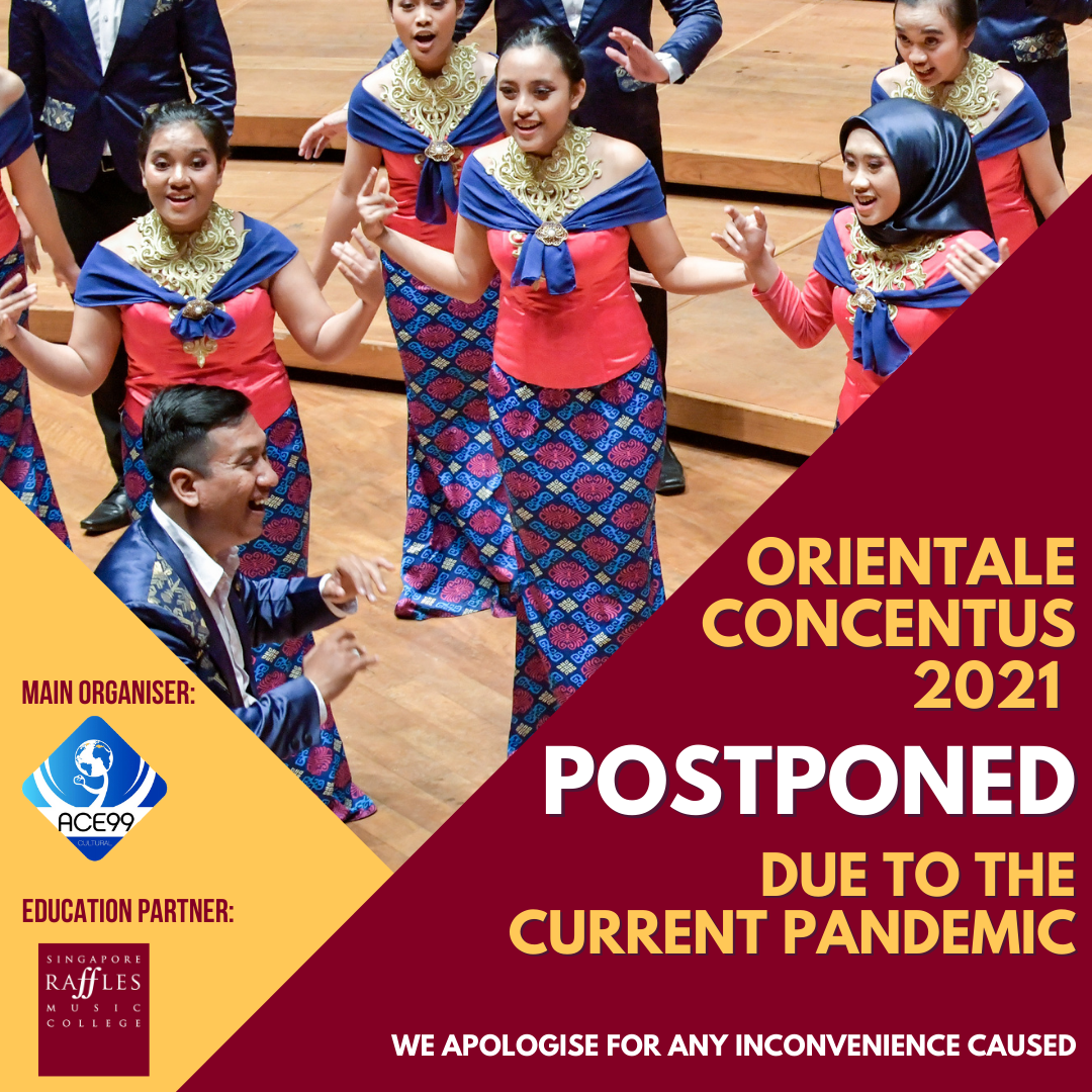 Postponement Announcement (Orientale Concentus)