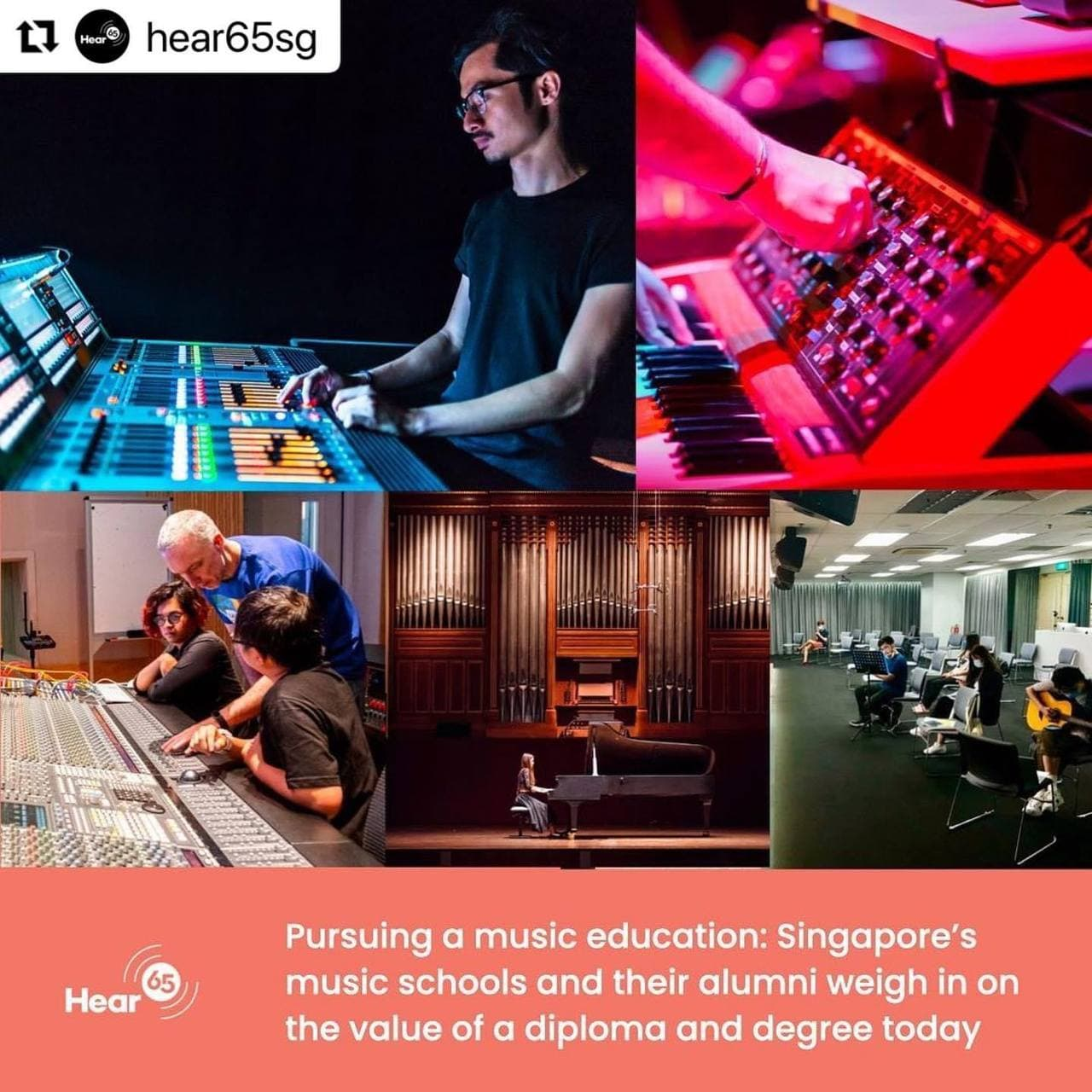 Special feature on Hear65sg